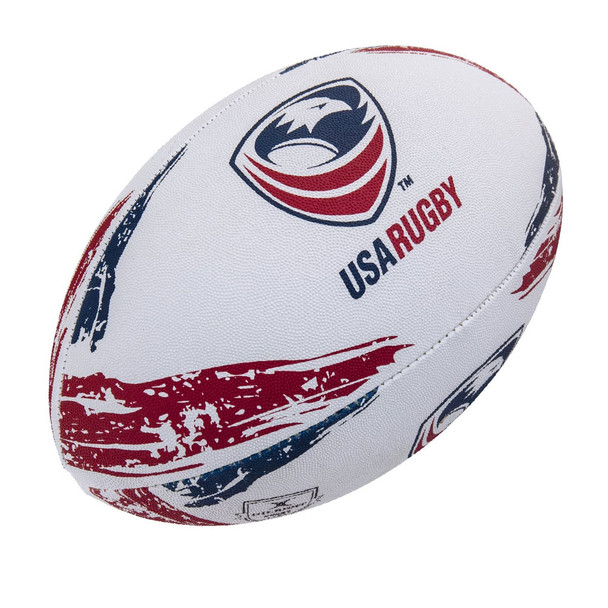GILBERT USA official supporter rugby ball [size 5]