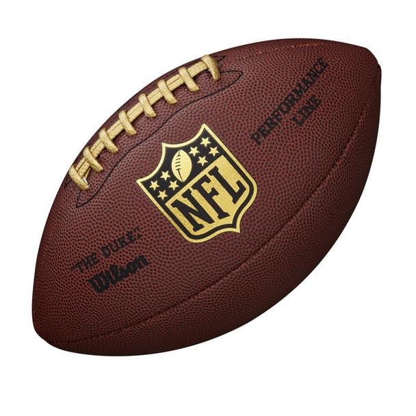 WILSON NFL Duke Performance Official American Football