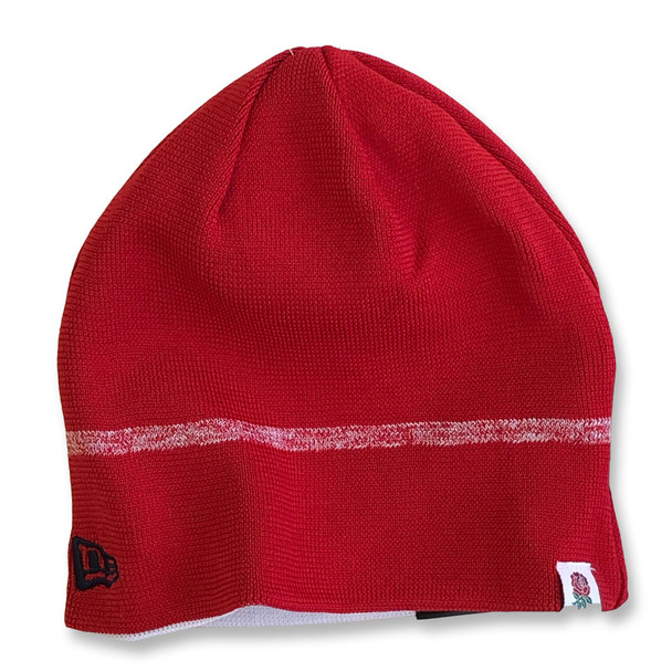 NEW ERA england rugby RFU reversible knit beanie [white/red]