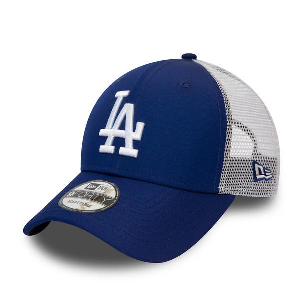 NEW ERA adjustable LA dodgers MLB 9forty trucker cap [blue]