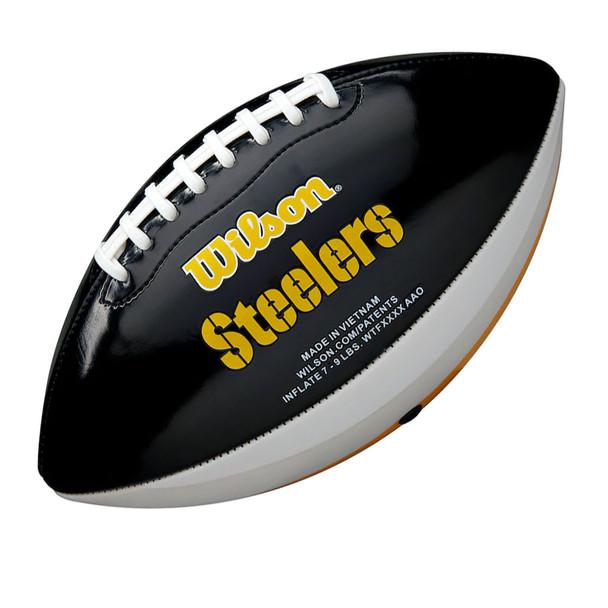WILSON pittsburgh steelers NFL peewee [25cm] debossed american football