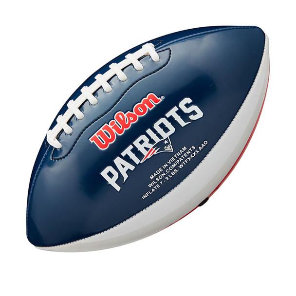 WILSON NFL new england patriots  peewee [25cm] debossed american football