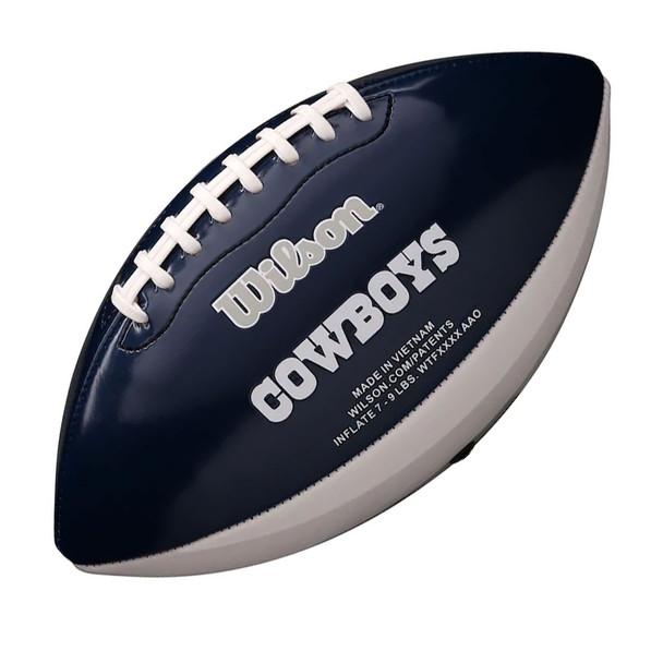 WILSON NFL dallas cowboys peewee [25cm] debossed american football