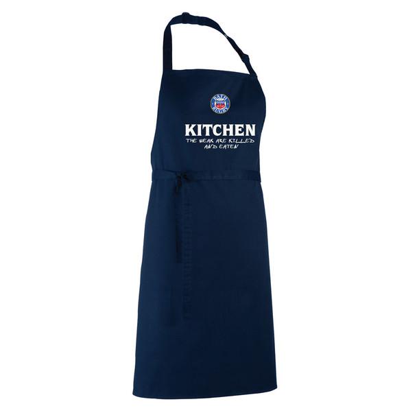 BATH RUGBY chefs kitchen / barbeque apron [navy]
