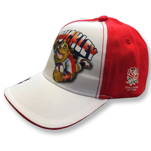 RFU england rugby boys ruckley cap [white/red]