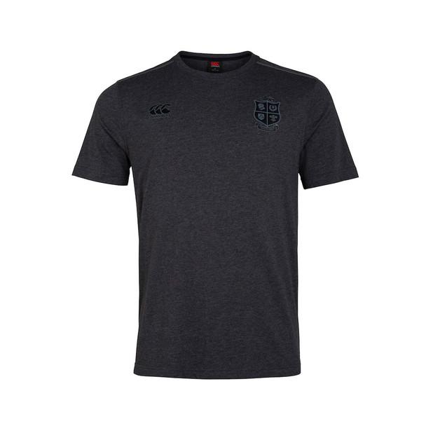 CCC british and irish lions cotton jersey t-shirt [dark grey]