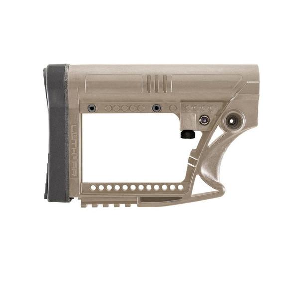 Luth-AR MBA-4 AR-15 Modular Buttstock Assembly Polymer FDE