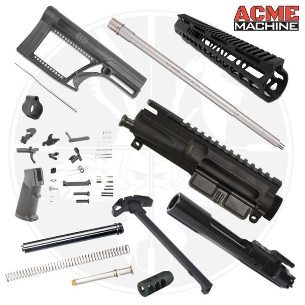 "BA 18"" .224 Valkyrie Complete Rifle Build Kit - Minus Lower"