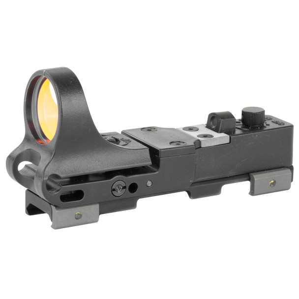 C-More RW - Railway Red Dot Sight - Polymer Body, Click Switch 8 MOA