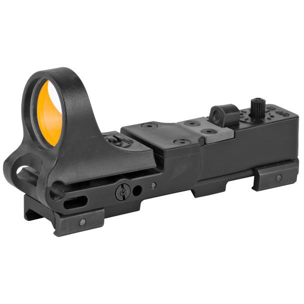 C-More RW - Railway Red Dot Sight, Polymer Body, Standard Switch 4 MOA