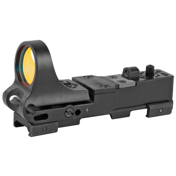 C-More RW - Railway Red Dot Sight, Polymer Body, Standard Switch 8 MOA