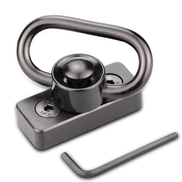 Flush KeyMod Push Button Sling Swivel Adapter