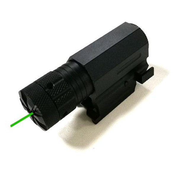 Green Laser Sight with 20mm Rail - Battery CR123A