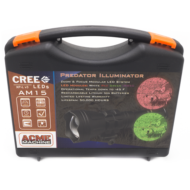 ACME AM15 CREE Modular LED Illuminator 1000 Lumens w/ Rechargeable Batteries