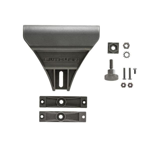 Luth-AR CHP-1 Cheek Plate Assembly Black Fits AR-15/AR-10 MBA-2 or MBA-4