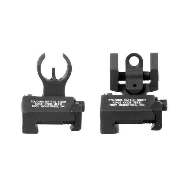 Troy Micro Set - HK Front and Round Rear -BLK