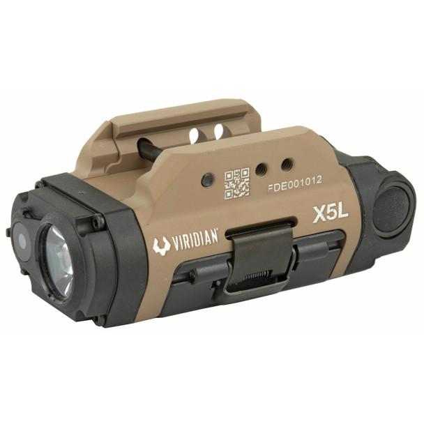 Viridian X5L-FDE Gen 2 Laser + Tactical Light