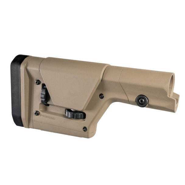 Magpul AR-15 PRS Gen 3 Fixed Adj Rifle Stock - FDE - DS-MPIMAG672-FDE
