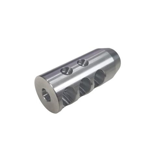 7.62 Stainless Steel TPI Compact Muzzle Brake for 5/8x24