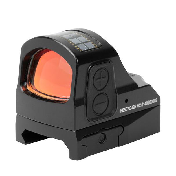 Holosun HE507C-GR V2 Open Reflex Sight - Green