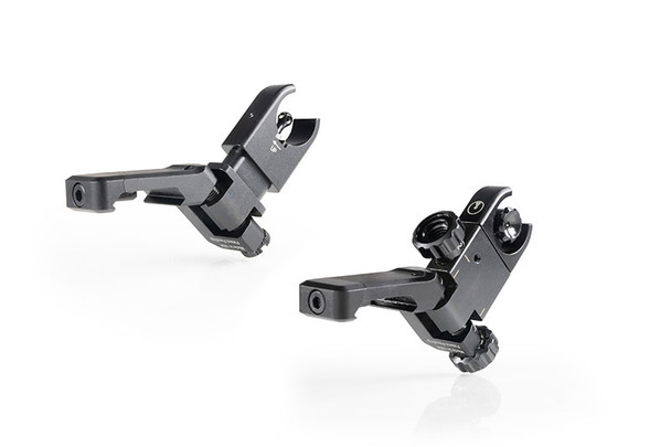 Ultradyne C4 Offset Folding Front and Rear Sight RH Combo