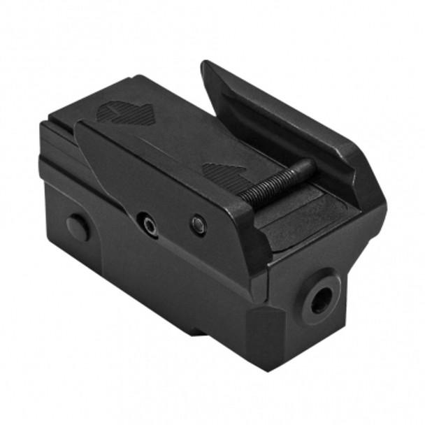 Vism Compact Pistol Blue Laser w/Strobe And KeyMod UnderMount - Black