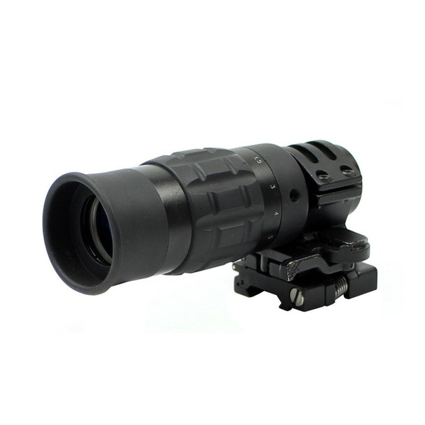 ACME 1.5 - 5X Magnifier w/ Flip To Side ARMS Mount
