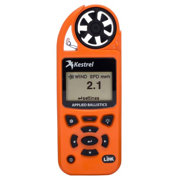 Kestrel 5700 Elite Electronic Hand Held Weather Meter with Applied Ballistics and LiNK Blaze Orange
