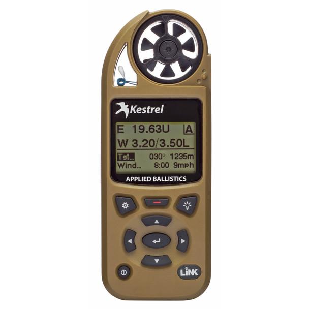 Kestrel 5700 Elite Electronic Hand Held Weather Meter with Applied Ballistics FDE