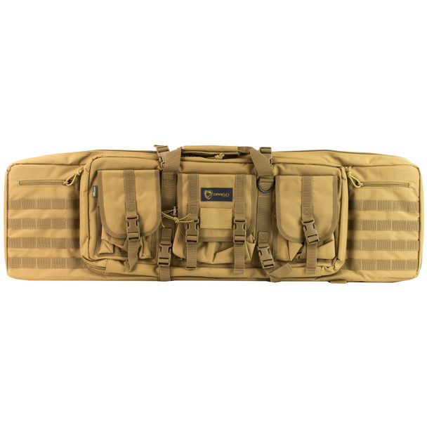 "Drago Gear 42"" Single Gun Case Tan"