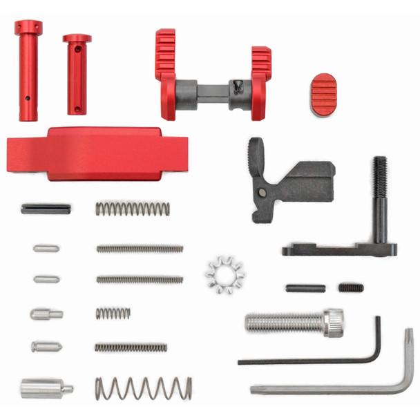 Armaspec Superlight Lower Parts Kit .223/5.56 - Red