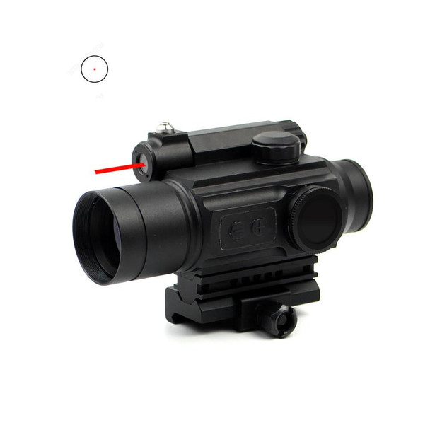 1x28 HD-25 Red Dot w/ Red Laser & Mount