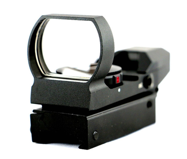 Tactical Holographic Reflex Sight Dual Illuminated Red/Green 4 Multi-Reticles