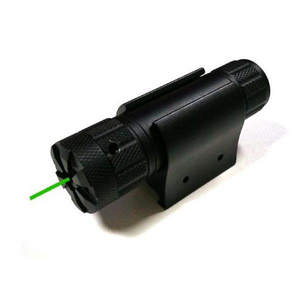 Green Laser Sight 25.4mm Tube - Battery CR123A