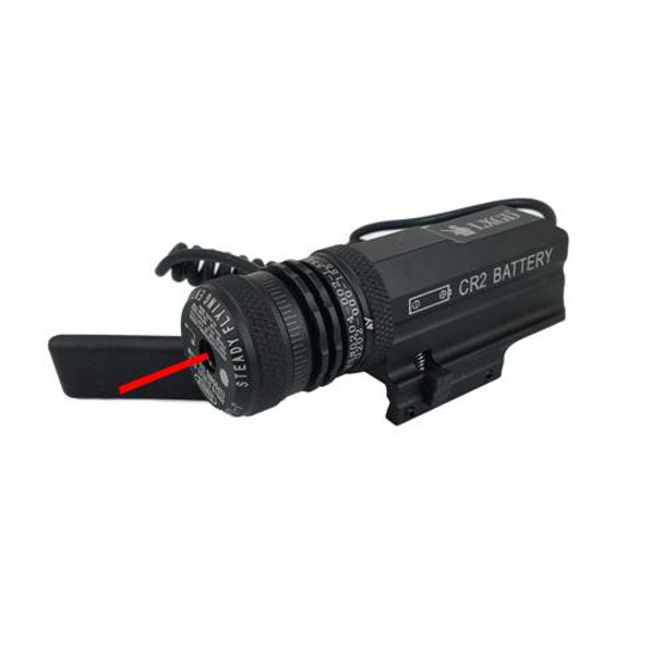Red Laser Sight 19mm Tube - Battery CR2