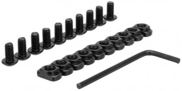 M-LOK Replacement Screws & Nuts (10 Pack)