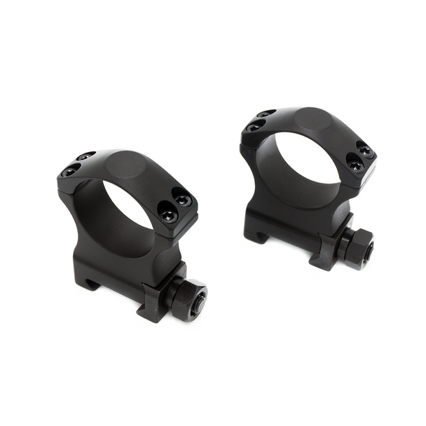 "AM 30mm Tactical Scope Rings Medium 1.25"" Height"