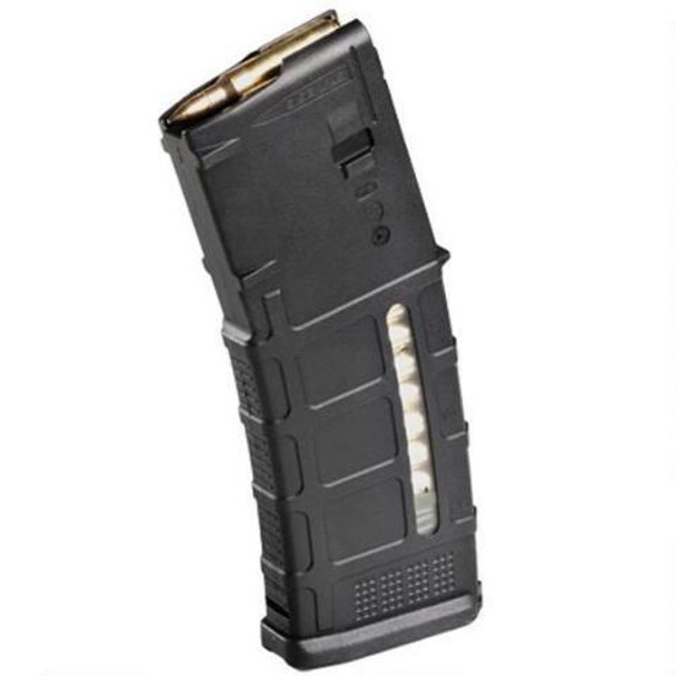 Magpul PMAG 30 M3 AR-15 Magazine Window, 5.56 NATO, 30 Rounds, Black