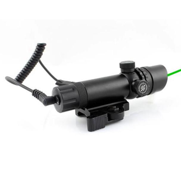 Green Laser Sight w/ QD Mount - Battery CR123A