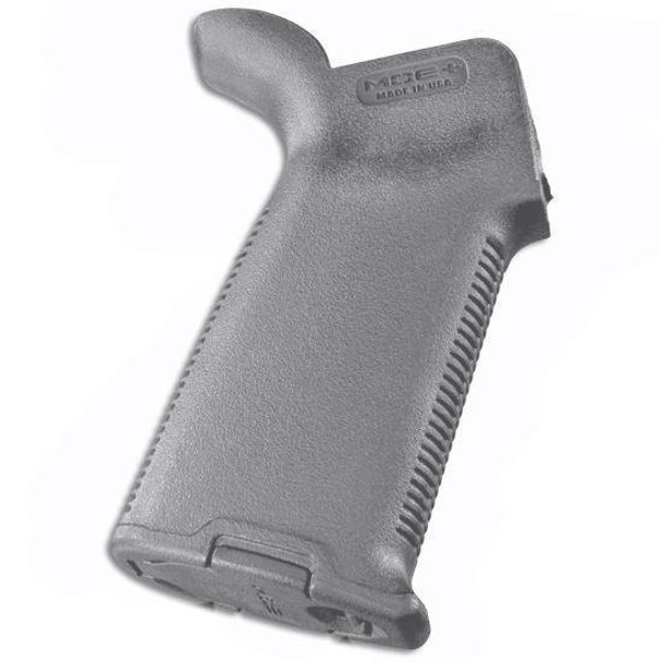 Magpul AR-15 MOE-K2+ Pistol Grip Rubbered Polymer - Gray