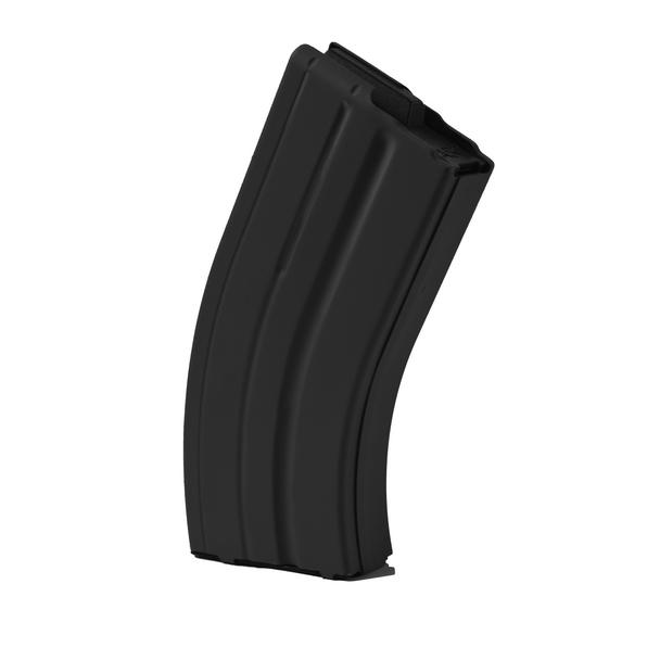 ASC AR-15 7.62x39 Magazine 20 Round Stainless Steel Black