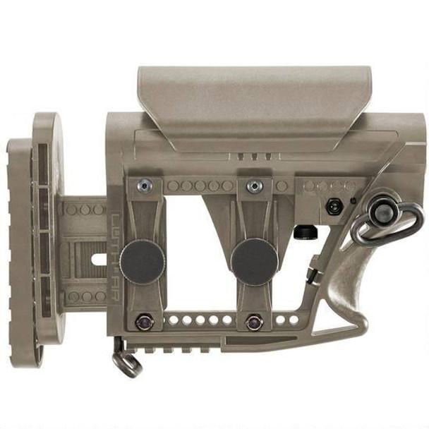 Luth-AR MBA-3 AR-15 Modular Buttstock Assembly Polymer FDE