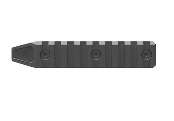 9 Slot M-LOK Rail Section Black Finish