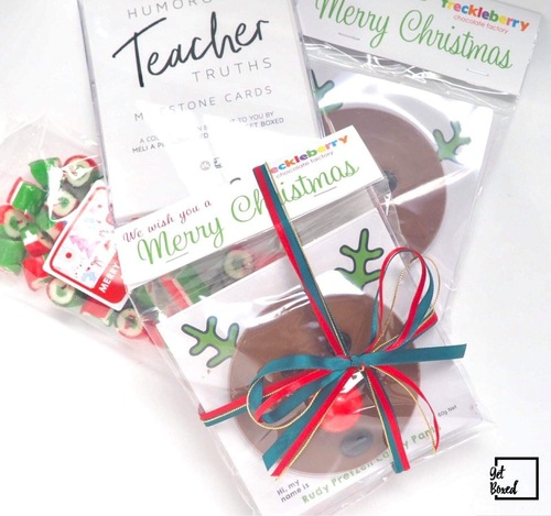 Rudolph the red nose reindeer for those teachers with a serious sense of humour!!