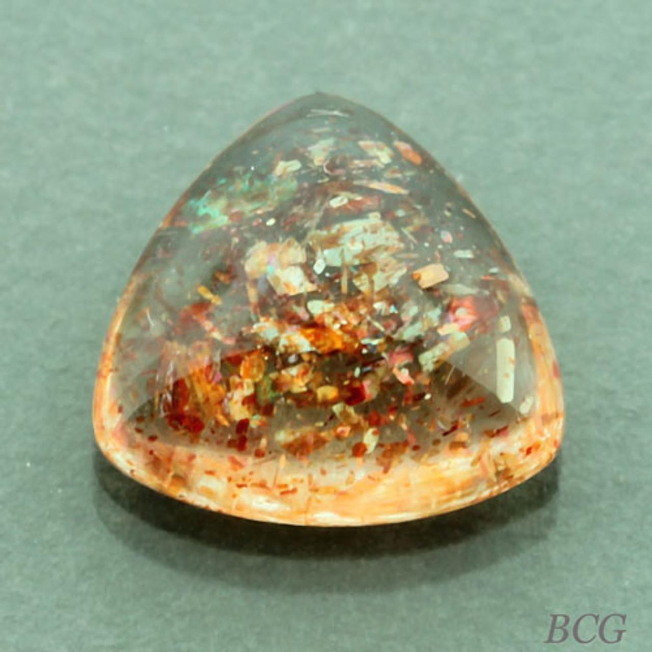 11 Cts Top Quality Sunstone gemstone Very Smooth Natural Sunstone Cabochon One Side Polished Sunstone Oval Shape Loose Gemstone TG 13