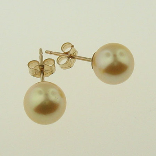 Akoya Golden Pearl Earrings