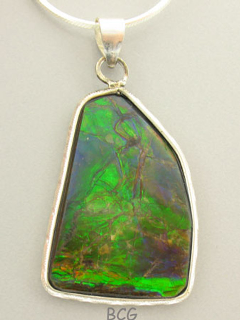 Genuine Natural Ammolite Necklace #1700