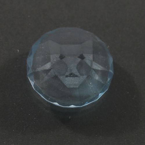 A Cat faceted into a Blue Topaz gemstone #G-2376