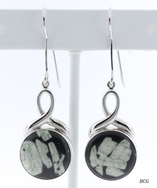 Chinese Writing Earrings #EA-011