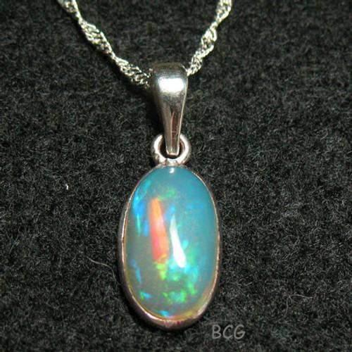 Ethiopian Opal Necklace #39